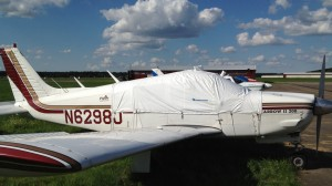 Canopy protection cover: Piper PA 28