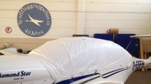 Canopy cover: Diamond aircraft DA 40